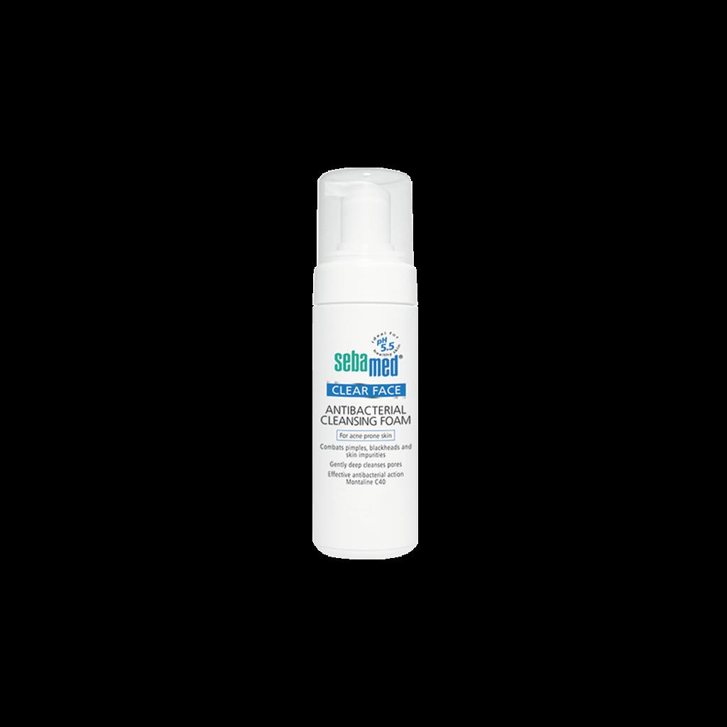 فوم پاک کننده پوست صورت آنتی باکتریال سبامد (Sebamed)