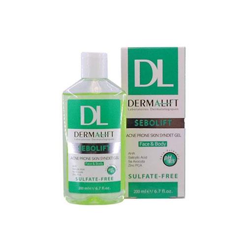 ژل شستشو پوست چرب و جوش دار سبولیفت درمالیفت (Dermalift)