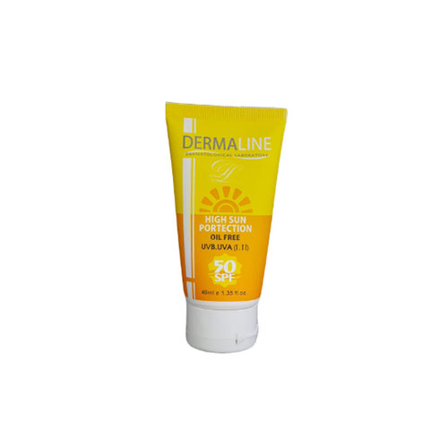 کرم ضد آفتاب فاقد چربی درمالاین (Dermaline)