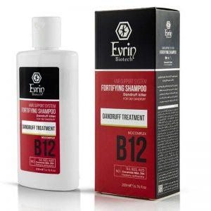 شامپو تقویت کننده و ضد شوره مناسب شوره چرب اورین (Evrin)