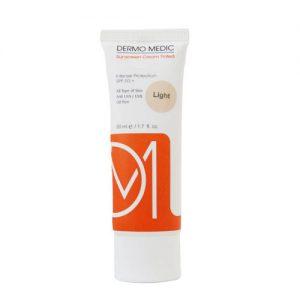 کرم ضد آفتاب بدون رنگ درمومدیک DERMO MEDIC) SPF50)