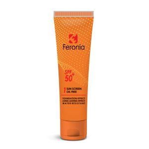 ضد آفتاب فاقد چربی SPF50 رنگ روشن 1 فرونیا (Feronia)