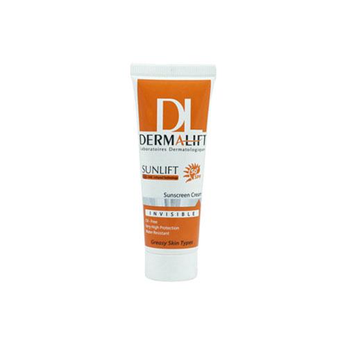 کرم ضد آفتاب بدون رنگ درمالیفت (Dermalift)
