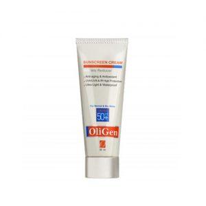 کرم ضد آفتاب پوست های نرمال و خشک الی ژن (Oligen)