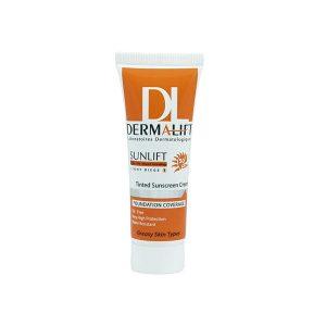 کرم ضد آفتاب پوست چرب بژ روشن 1 درماليفت (Dermalift)