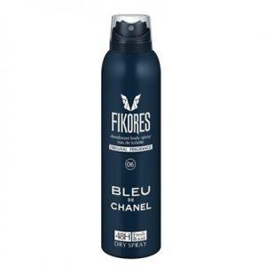 اسپری خوشبو کننده مردانه بلو چنل فیکورس FIKORES BLUE DE CHANEL