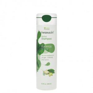 شامپو تقویتی موی چرب هرباسین (Herbacin)