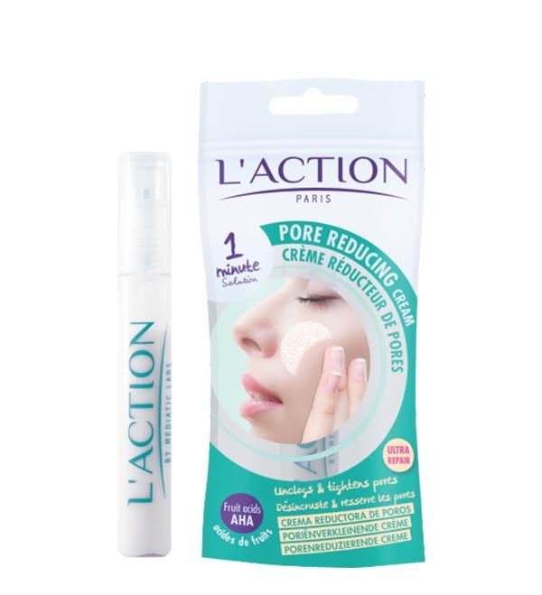 کرم کاهش دهنده منافذ باز پوست لکسیون (Laction)