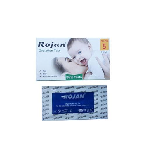 تست تخمک گذاری (5 عددی) روژان (Rojan)