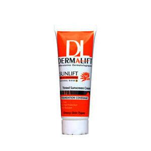 کرم ضد آفتاب رنگ شن صحرایی ۴ درمالیفت (Dermalift)