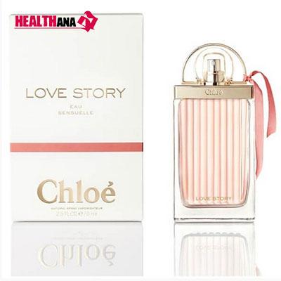 ادکلن کلوئه لاو استوری او سنشوال Chloe Love Story Eau Sensuelle