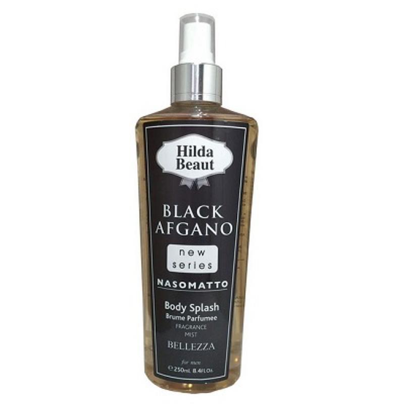 بادی-اسپلش-مردانه-هیلدا-بیوت-مدل-BLACK-AFGANO