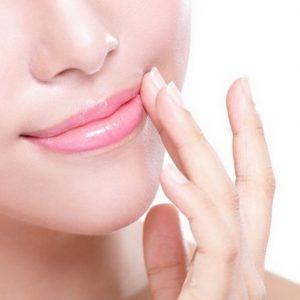 درمان سیاهی لب