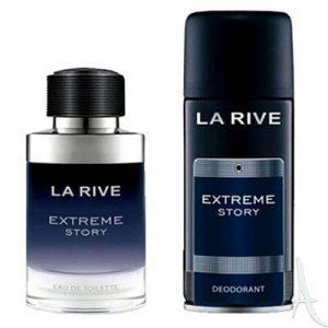 ست ادکلن و اسپری لاریو اکستریم استوری La Rive EXTREME STORY