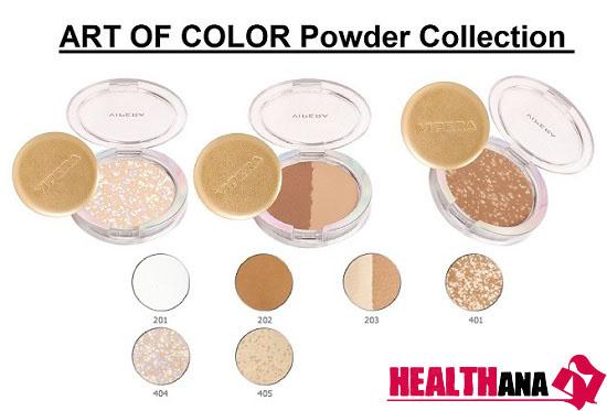 پنکیک ویپرا آرت اف کالر شماره Vipera Art of Color Powder