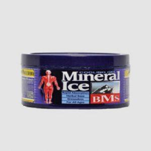 ژل ضد درد کاسه ای (BMS) مدل Mineral Ice