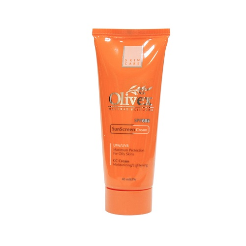 کرم ضد آفتاب پوستهای چرب الیوکس SPF60