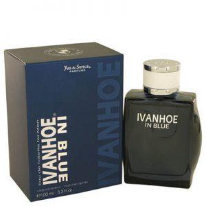 ادکلن مردانه پاریس بلو مدل IVANHOE IN BLUE حجم 100 میلی لیتر