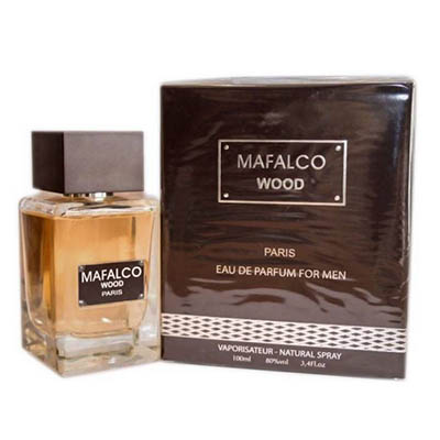 ادکلن ادوتویلت مردانه پاریس بلو مدل مافالکو وود Paris Bleu MAFALCO Wood Men EDT 100