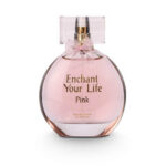 ادکلن ادو پرفیوم زنانه پاریس بلو مدل اینچنت یور لایف صورتی Paris Bleu Enchant Your Life Pink Women Edp 100 ml