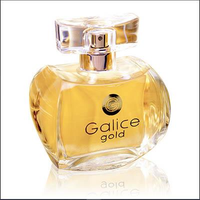 ادکلن ادو پرفیوم زنانه پاریس بلو مدل گالیس گلد طلاییParis Bleu Galice Gold Women Edp 100 ml