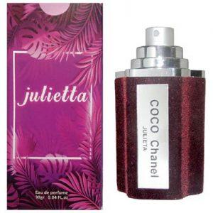 ادکلن زنانه ژولییتا مدل Coco Chanel حجم 30 میلی لیتر