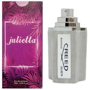 ادکلن مردانه ژولییتا مدل Creed Aventus حجم 30 میلی لیتر