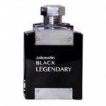 ادکلن جانوین مدل بلک لجندری Johnwin Black Legendary Men EDP 100 ml