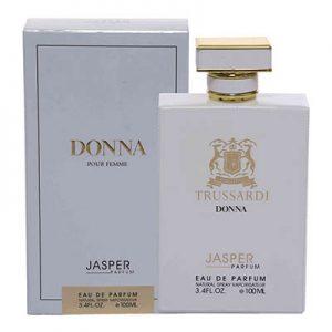 ادکلن زنانه جاسپر برند دونا Jasper Brand DONNA Women EDP 100 ml