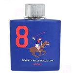 ادکلن مردانه بورلی هیلز پولو کلاب مدل شماره 8 BEVERLY HILLS POLO CLUB NUMBER 8 Men EDT