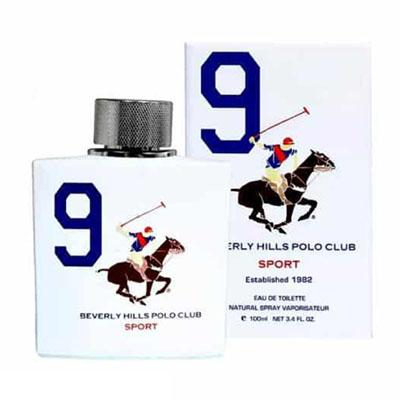 ادکلن مردانه بورلی هیلز پولو کلاب مدل شماره 9 BEVERLY HILLS POLO CLUB NUMBER 9 Men EDT