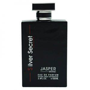 ادکلن مردانه جاسپر برند سیلور سکرت Jasper Brand Silver Secret Men EDP 100 ml