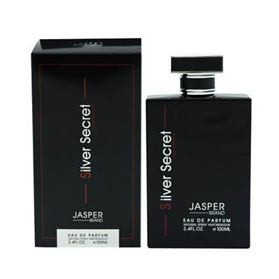 ادکلن مردانه جاسپر برند سیلور سکرت Jasper Brand Silver Secret Men EDP 100
