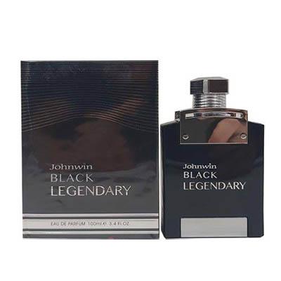ادکلن مردانه جانوین مدل بلک لجندری Johnwin Black Legendary Men EDP 100 ml