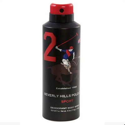 اسپری دئودورانت مردانه بورلی هیلز پولو کلاب شماره دو BEVERLY HILLS POLO CLUB Number 2 Deodorant Spray