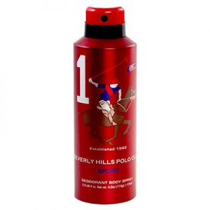 اسپری دئودورانت مردانه بورلی هیلز پولو کلاب نامبر وان BEVERLY HILLS POLO CLUB Number 1 Deodorant Spray
