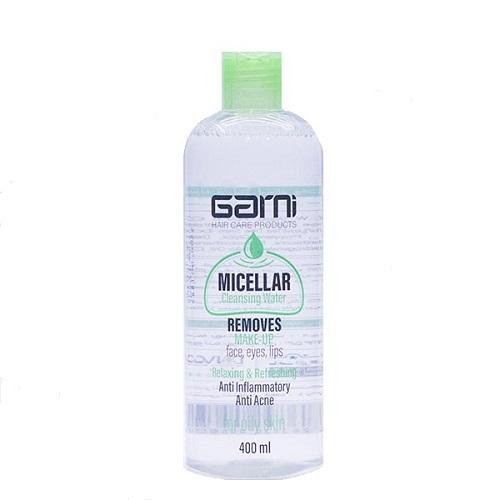 پاک کننده آرایش میسلار واتر گارنی پوست چرب حجم400mL