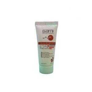 کرم ضد آفتاب گارنی مخصوص پوست های حساس spf25