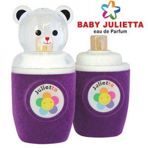 ادکلن ادو پرفیوم بچه گانه کودک ژولییتا جولییتا ژولیتا رنگ بنفش Julietta Purple Baby Edp 30 ml