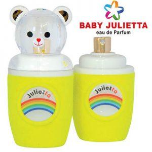 ادکلن ادو پرفیوم بچگانه کودک ژولییتا جولییتا ژولیتا رنگ زرد Julietta yellow Baby Edp 30 ml