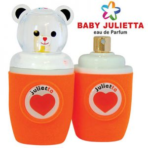 ادکلن عطر بچه گانه ادو پرفیوم بچگانه کودک ژولییتا جولییتا ژولیتا رنگ نارنجی Julietta Orange Baby Edp 30 ml