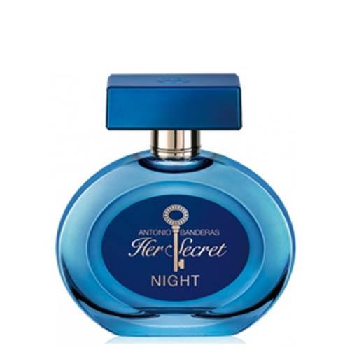 ادکلن و ادو تویلت زنانه آنتونیو باندراس هر سکرت نایت Antonio Banderas Her Secret Night Eau De Toilette For Women 80 ml