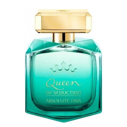 ادکلن و ادو تویلت زنانه آنتونیو باندراس کویین آف سداکشن Antonio Banderas Queen of Seduction Absolute Diva Eau De Toilette For Women 80 ml