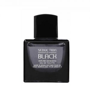 ادکلن و ادو تویلت مردانه آنتونیو باندراس مدل سداکشن این بلک Antonio Banderas Seduction In Black Eau De Toilette For Men 100 ml
