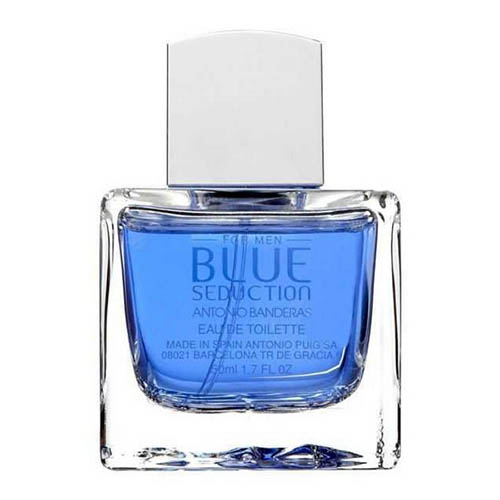 ادکلن و ادو تویلت مردانه باندراس مدل بلو سداکشن ANTONIO BANDERAS Blue Seduction Eau De Toilette for Men 100 ml