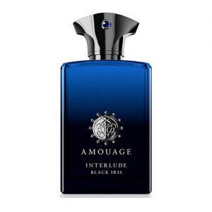 ادکلن و ادو پرفیوم مردانه آمواژ مدل اینترلود بلک آیریس رز سیاه Amouage Interlude Black Iris Eau De Parfum For Men 100 ml