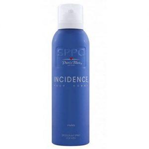 اسپری مردانه پاریس بلو مدل اینسیدینس پور هوم Paris Bleu Incidence Pour Homme Deodorant Spray for Men 200ml