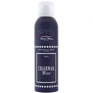 اسپری مردانه پاریس بلو مدل چیرمن بلو Paris Bleu Aviator Black Leather Spray for Men 200ml