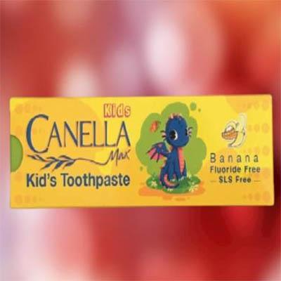 خمیر دندان کودک موز کنلامکس Canella Max Banana Kid's Toothpaste 60