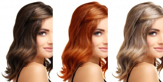 رنگ موی مناسب با چهره